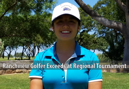 Ranchview Golfer Exceeds at Regional Tournament