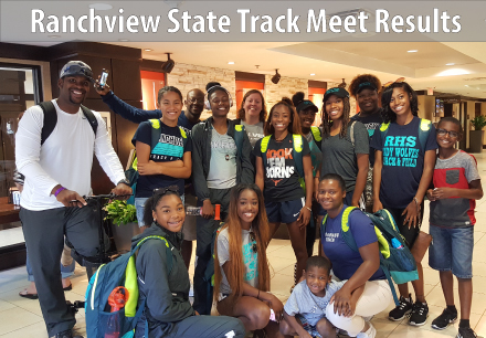Ranchview State Track Meet Results