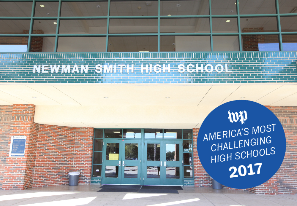 The Washington Post Names Newman Smith as One of America's Most Challenging High Schools