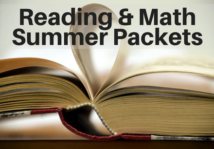 Reading & Math Summer Packets