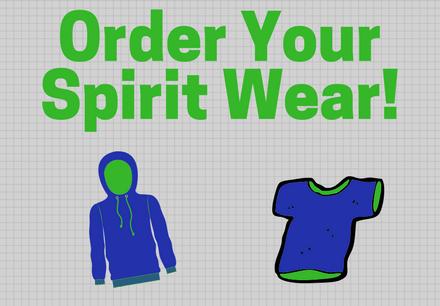 Order Your Spirit Wear!