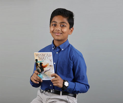 Perry Middle School student publishes his first book