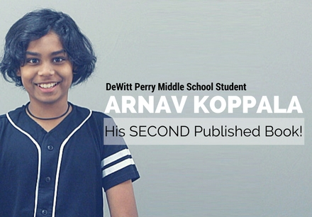 Arnav Koppala has his Second Book Published