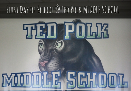 First Day of School at Polk