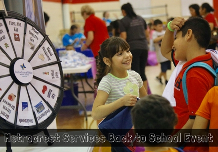 Metrocrest Services 2017 Back to School Event