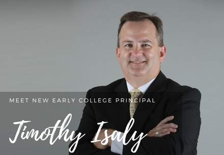 Meet New ECHS Principal Timothy Isaly