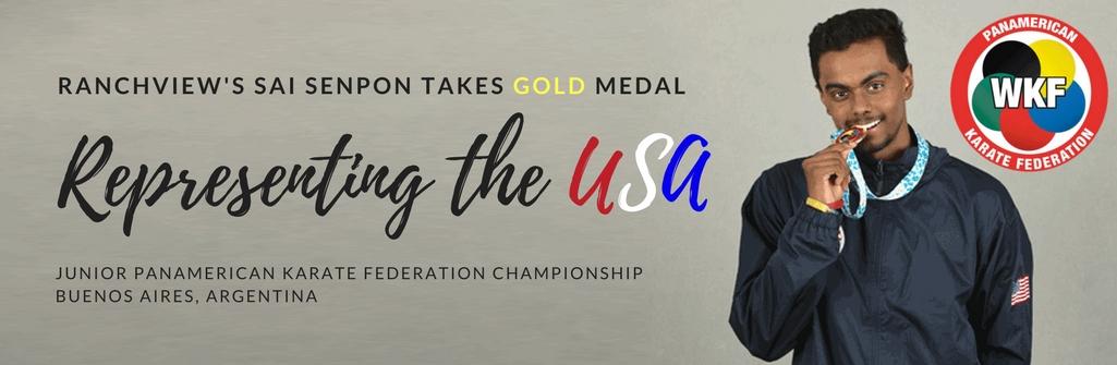 Saisheren Senpon Wins Gold Medal