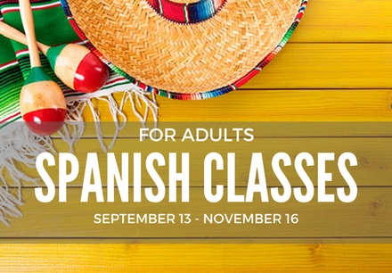 Fall 2017 Spanish Classes for Adults