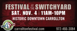 Advertisement: City of Carrollton - At the Switchyard