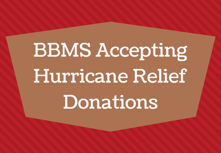 Barbara Bush Middle School Accepting Hurricane Relief Donations