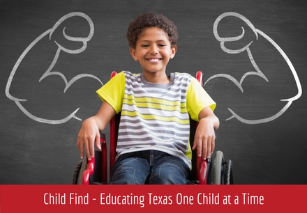 The Child Find Mandate What Does It >> Child Find Educating Texas One Child At A Time Carrollton