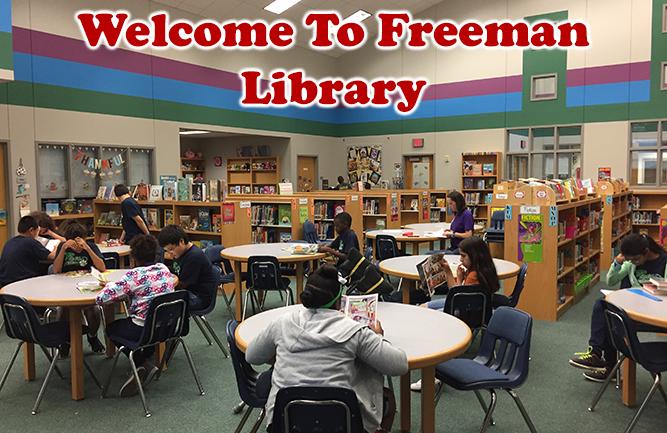 Freeman Elementary Library | Carrollton-Farmers Branch ISD